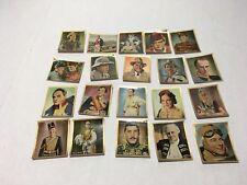 VINTAGE Salem Zigaretten TOBACCO CARD  lot of 20  FILM STARS MAURICE CHEVALIER