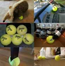 6 USED Tennis Balls Play Catch Dog Toy Walker Table Chair feet Penn//Wilson