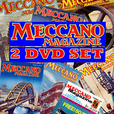 COMPLETE MECCANO MAGAZINES COLLECTION 2 PC DVD SET, EVERY EDITION 1916-1981 NEW