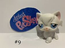 Authentic Littlest Pet Shop - Hasbro Lps - Angora Cat #9