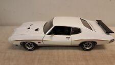 ACME 1:18 1970 GTO THE JUDGE PROMO CAR - WHITE- READ DESCRIPTION-SUPER NICE ONES