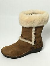 UGG AUSTRALIA Classic Elijo Suede Boots Chestnut 5674 Size 6 USA. Eur.37 Uk.45