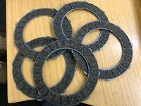 5 BSA Friction Clutch Plates 6 Spring C10 C11 B31 B32 B33 A7 A10 M21 M33 65-3857