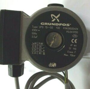 """Circulateur GRUNDFOS UPS 15-50 / 130 (DN25 -1"""") - GRUNDFOS Circulator"""