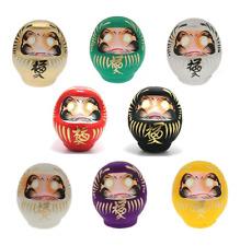 "SET of 8 Japanese 3.75""H Daruma Dolls Wish Making for Good Luck Made in Japan"