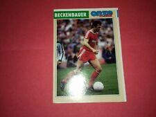 Onze Mondial Fiche Joueur Franz Beckenbauer Allemagne