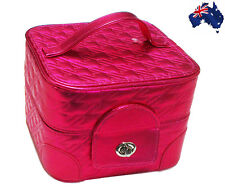 Portable Cosmetic Make Up Train Case-Overnight Make Up Bag Weekender/Mothers Day
