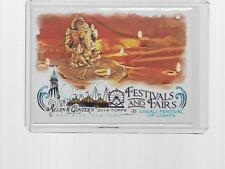 2014 TOPPS ALLEN & GINTER FESTIVAL AND FAIRS DIWALI FESTIVAL OF LIGHTS #FAF-09