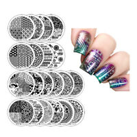 Winstonia Nail Art Stamping Image Plates Set 3RD GEN Easy Manicure Design Stamps