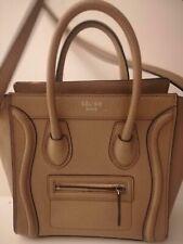 Women's CELINE Nano Laggage Handbag