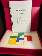 New—Zobrist Cube Game Edition Puzzle 3D Spatial Challenge, Brain Sharpening Game