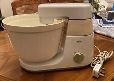 Braun Stand Mixer KM32 (West Germany) Food Processor with Multiple Attachments