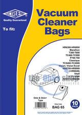 10x PHILIPS Oslo & Oslo+ Vacuum Cleaner Dust Bags TCX536, TCX537, TCX625, TCX628