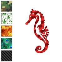 Seahorse Sea Horse Decal Sticker Choose Pattern + Size #3708