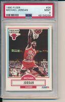 1990 FLEER MICHAEL JORDAN  #26   PSA 9 MINT   CHICAGO BULLS HOF