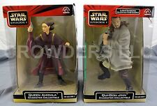 Star Wars Episode 1 Queen Amidala & Qui Gon Jinn Character Collectibles Applause