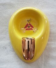 POSACENERE ASHTRAY MONTECRISTO AMARILLO IN CERAMICA