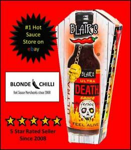 Blair's ULTRA Death Sauce! BLAIRS XXX HOT chilli BBQ PARTY SPICY //Made in USA