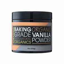 Foraging Organic Vanilla Bean Powder (8 oz) Pure, Vegan, Raw