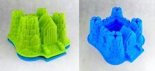 3D Silikon Backform Silikonbackform Ritterburg Kuchenform Backen Geburtstag Form