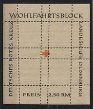 Lokalausgaben (nichtamtl.) Oldenburg Block I oder II F postfrisch (B03449)