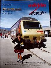 Marklin Insider Le magazine du Club Marklin n°5/2000 - Tr.21