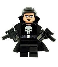 Design Personnalisé Figurine-The Punisher Superhero Imprimé sur LEGO Pièces