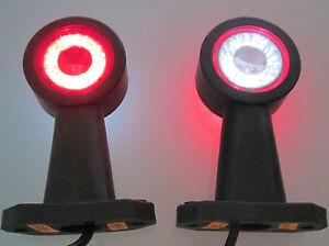 2 x LED Begrenzungsleuchten Umrissleuchten LKW PKW Anhänger 12V - 24V LD 722