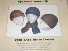 Easy to Crochet Hat Pattern