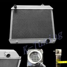 3 ROWS/TRI CORES ALUMINUM RADIATOR 63- Chevy Panel Pickup Truck Suburban