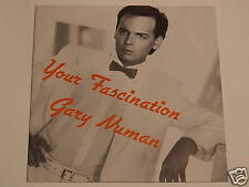 "Gary Numan	Your Fascination / We Need It	7""	NUMA/NU9"