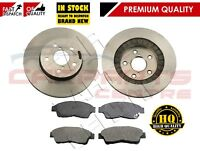 FOR TOYOTA RAV4 RAV 4 1.8 2.0 1994-2000 FRONT BRAKE DISCS AND BRAKE PADS SET NEW