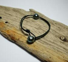 2 Perles de TAHITI montées en bracelet