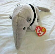 Ty Ants Beanie Baby Anteater Plush With Tag - Near Mint Condition!