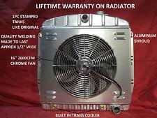 1955 1956 1957 1958 1959 CHEVROLET GMC PICKUP TRUCK ALUMINUM RADIATOR