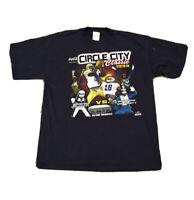 Vintage Circle City Classic 1999 Football Hampton Souther University Tshirt Blue