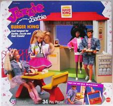 Jazzie, Teen Cousin of Barbie, Burger King Playset 1989 (New)