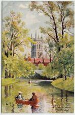 JW Ruddock Single Printed Collectable English Postcards
