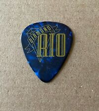 DIAMOND RIO - Tour Issued Guitar Pick Blue Marble & Gold Country
