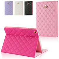 For iPad2 3 4 Air 2 mini 2017 9.7 Luxury Bowknot Leather Smart Case Stand Cover