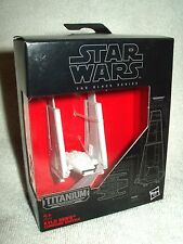 Action Figure Star Wars Titanium The Black Series Kylo Ren's Command Shuttle #03