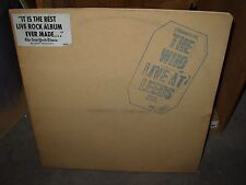 WHO live at leeds ( rock ) all 12 INSERTS - STICKER -