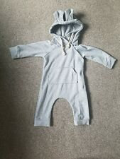 Bunny Hoodie All In One 6-12 Months