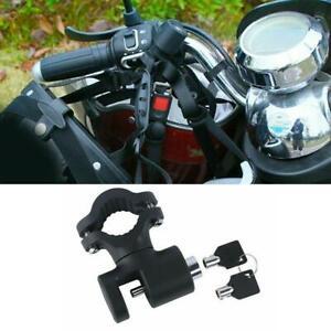 Universsal Motorcycle Helmet Lock Anti-theft Security Hook 22-26mm Handlebar