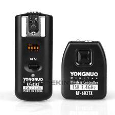 Yongnuo RF-602 2.4GHz Wireless Remote Flash Trigger + Receiver for Nikon Camera