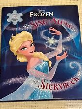 Frozen Sing-Along Storybook BRAND NEW Book ELSA Anna DISNEY Hardcover CD Songs