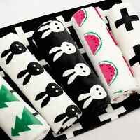 Newborn Infant Swaddle Blanket Baby Flannel Blankets Child Play Mat  Bath Towels
