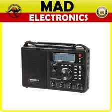 Digitech World Band AM/FM/SW PLL Radio with LCD Screen&  Antenna Connection