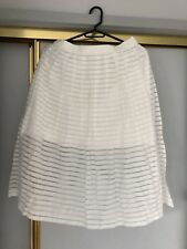 Forevernew White Midi Dress Size 10
