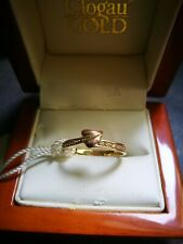 Clogau 9ct Yellow & Rose Gold Love Vine Diamond Ring